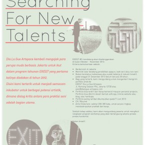 Artists Wanted: EXI(s)T Project Exhibition
