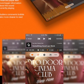 Azis Pradana: Soundcloud UI Project