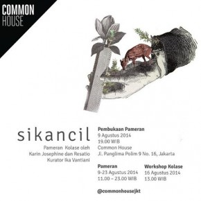 sikancil: Resatio & Karin Josephine Joint Exhibition