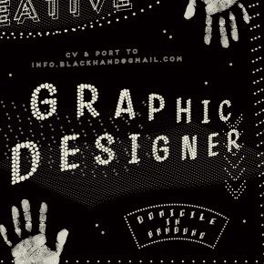 Black Hand Design: Graphic Designer Wanted