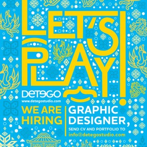 Detego: Graphic Designer Wanted