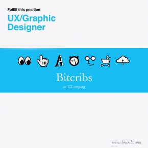 Bitcribs: UX/ Graphic Designer Wanted [Job Vacancy]