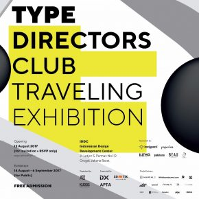 Type Directors Club (TDC) 62 Traveling Exhibition, Jakarta